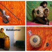 Violon et percussion carnatique par les Ceylan brothers