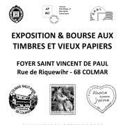 Exposition et bourse aux timbres et vieux papiers