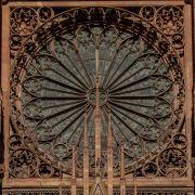 Les voussures du portail central de la cathédrale