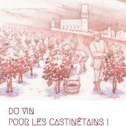 Du vin pour les Castinétains ! Récolté et mis en fût par l'archéologie