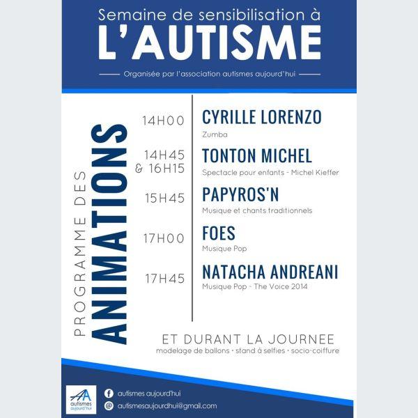 Journ e de sensibilisation l 39 autisme strasbourg - Centre commercial rivetoile ...