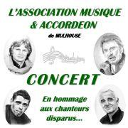L\'Accordéon rend hommage aux Auteurs et Chanteurs disparus