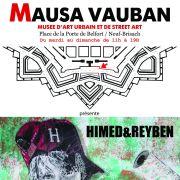 Street art live : Himed & Reyben au Mausa Vauban !