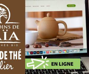 Atelier en ligne : thés et chocolats