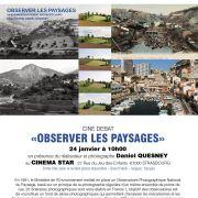 Ciné débat : film documentaire sur les paysages
