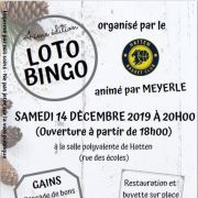 Loto Bingo de Noël du Basket Club Hatten