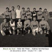Match de football caritatif INET