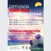 Diffusion Euro 2020