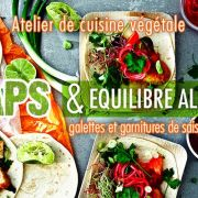WRAPS & équilibre alimentaire – tout fait maison ! (Vegan)