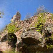 Présentation des châteaux forts d'Alsace à l'empereur Guillaume II