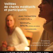 Veillées de chants méditatifs et participatifs