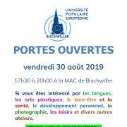 Portes ouvertes : Université populaire européenne