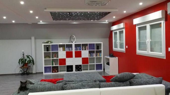 D sign plafond toil - Etoiles phosphorescentes plafond chambre ...