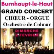 Grand Concert Choeur Orgue Orchestre de Colmar