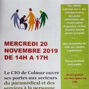Le CIO de Colmar ouvre ses portes aux secteurs du paramédical et des services à la personne