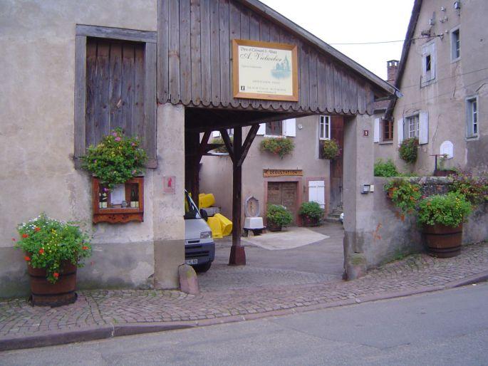 L\'entrée de la Cave Vielweber