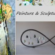 Exposition de peinture et de sculpture