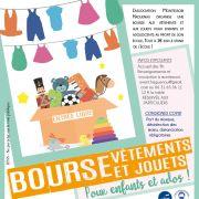 Bourse aux vêtements et jouets Enfants/Ados