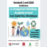 Le changement climatique du global au local