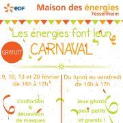 Les énergies font leur carnaval