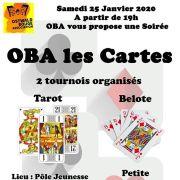 Soirée cartes par Ostwald Bouge Association