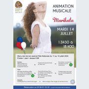 14 Juillet : Marikala - animation musicale