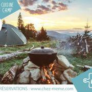 Cours de Cuisine au Feu de Camp et Nuit en montagne