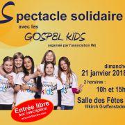 Spectacle Solidaire avec les Gospel Kids