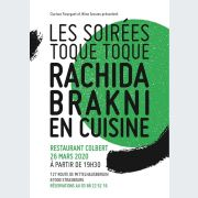 Soirée Toque Toque : Rachida Brakni met en scène le menu au Colbert