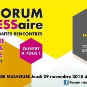 Le Forum nécESSaire – Les éclairantes rencontres de l'ESS en Grand Est