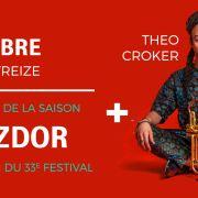 Jazzdor ouvre sa saison + Theo Croker \