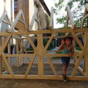 Atelier famille : Maisons à pans-de-bois