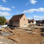 Visites de la fouille archéologique préventive à Obernai