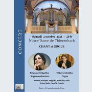 Concert Chant et Orgue
