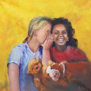 Bienveillance, peintures par Yvette Metz