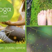 Yoga & marche consciente en forêt & marche consciente en forêt