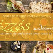 Cours de Mézzés méditerranéens originaux pour apéro ou repas (vegan)