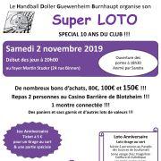 Super Loto spécial 10 ans à Burnhaupt-Le-Haut