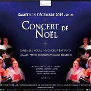 Concert de Noël à la Mine d\'Artgens : à Chœur Battant