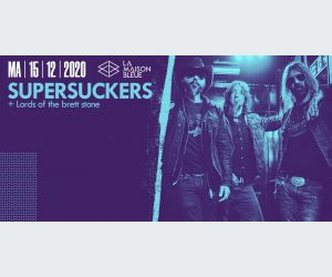 Supersuckers + Lords of the Brett Stone