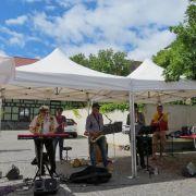 French Latin Jazz à L\'Ange (Guebwiller) avec Aloyse et les Dynamos
