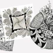 Atelier de dessin créatif, méditatif : découverte du Zentangle