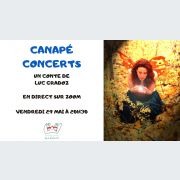 Canapé concerts - Conte féérique en musique