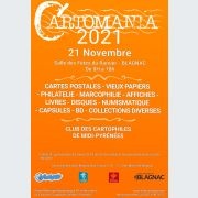 Cartomania 2021 - 43ème édition bourse multi collections