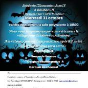 Soirée Halloween à Bruebach