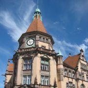 Voyage dans la ville allemande