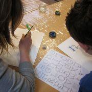 Atelier enfant : Calligraphie et enluminure