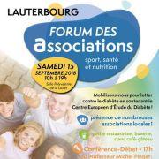 Forum des associations et Mobilisation contre le diabète