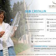 Bain cristallin et bien-être au Domaine du HIRTZ