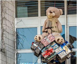 Promenade sur le territoire du Val d\'Argent pour y découvrir les décorations d\'ours !
